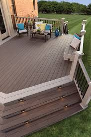 Pvc Patio Furniture Plans - timbertech legacy collection deck in tigerwood casual