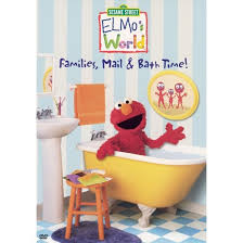 Elmo Bathroom Accessories Elmo U0027s World Families Mail U0026 Bath Tim Dvd Target