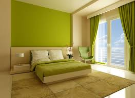 latest interior colour with two colors combination for bedroom