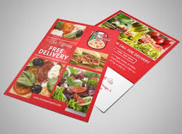 design your own restaurant flyers with mycreativeshop