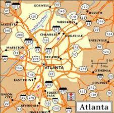 map of metro atlanta maps of metro atlanta