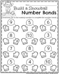 january kindergarten worksheets addition worksheets number