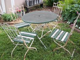 Vintage Bistro Table And Chairs A Sentimental Life Vintage French Bistro Set