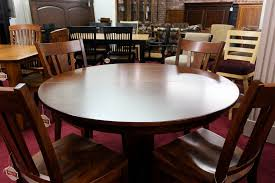 round dining room tables with self storing leaves farm tables lancaster pa kincaid dining room furniture round oak