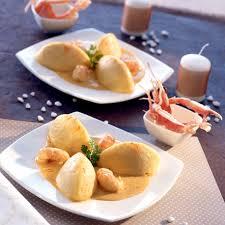 cuisiner quenelles quenelles de poissons sauce langoustine avec cook in