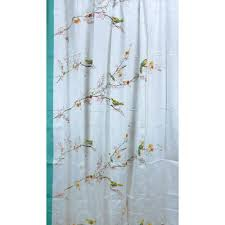 Shower Curtain Amazon Com Lenox Simply Fine Chirp Shower Curtain Multi Color