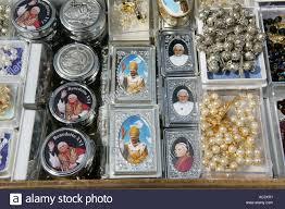 pope souvenirs ita italy rome vatican pope souvenirs stock photo 7441904