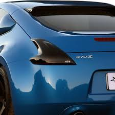 nissan 370z tail lights gts nissan 370z 2009 2014 blackouts tail light covers