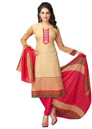 women s dresses vaamsi women s dress material beige pink homeshop18