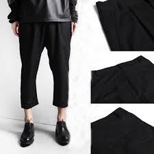 mens black capri pants pants market