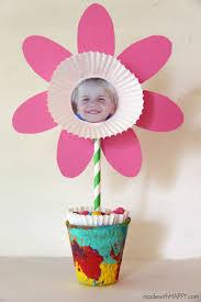 picture flower kids craft free printable flower flower crafts