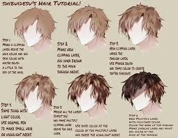 anime hairstyles tutorial the best coloring how to color anime would my hair be image of