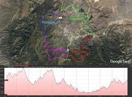 Map Of Prescott Arizona by Prescott Circle Trail Map Gpx Data High Altitude Training