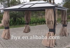 Patio Gazebo For Sale Deluxe Patio Gazebo With Polycarbonate Roof Aluminum Polycarbonate