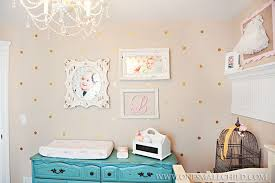 Shabby Chic Baby Room by 13 Lily U0027s Turqoise Shabby Chic Nursery 5121 One Small Child Blog