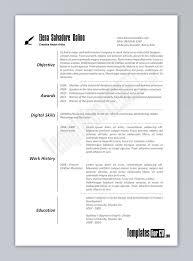 Microsoft Word Resume Template 2013 Word 2013 Resume Templates 14 Free Microsoft Basic