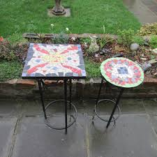 how to make a mosaic table top how to create a mosaic design for a table in your garden mosaic