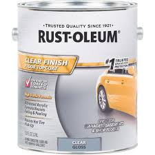 rust oleum clear finish topcoat floor coating 320202 do it best