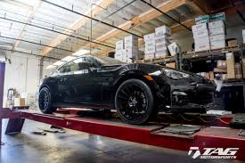 subaru brz black black subaru brz with ff15 in tarmac hre performance wheels