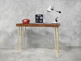 hairpin leg console table hairpin retro modern console table white holy funk
