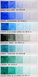 my color chart of winsor u0026newton professional and schmincke horadam