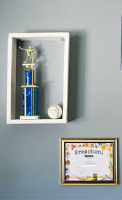 diy wall display boxes for kid u0027s momentos blogger bests