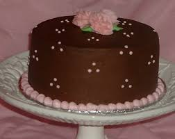 brown cake pink and brown wedding cake cakecentral