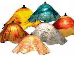 hand blown glass light globes blown glass l shades victorian hand schwubs info