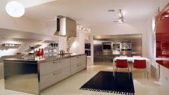 Overhead Kitchen Lighting Overhang Granite Kitchen Island White Tile Backsplash Island