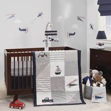 Vintage Aviator Crib Bedding Vintage Airplane Crib Bedding Glenna Jean Fly By Chair Hanging