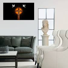 Living Room Paintings Compare Prices On Cross Wall Art Online Shopping Buy Low Price