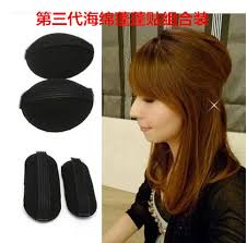 hair puff accessories japanese and korean flat becomes pengtou pengfa heightening