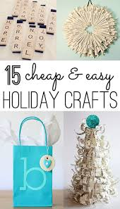 Cheap Holiday Craft Ideas - christmas crafts 12 cheap and easy ideas