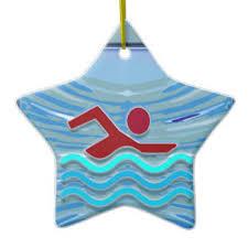 swimmer ornaments keepsake ornaments zazzle