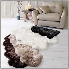 Imitation Sheepskin Rugs Faux Sheepskin Rug Canada Rug Designs