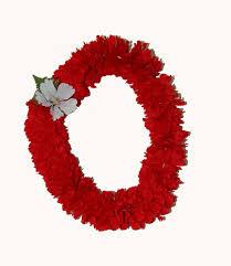 flower leis hawaiian carnation flower jade fashion aloha wear