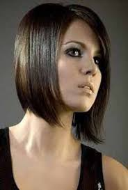 hairstyles short on an angle towards face and back slight angle short hairstyles for round faces women hair i love