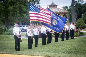Indiana Flags At Half Staff Visit With Veterans At Indiana Veterans Home For Independence Day