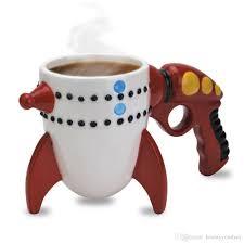 sale creative ceramic mug personlity big mouth toy retro ray