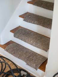 Staircase Runner Rugs Upcycle Woven Table Runners Into A Durable Stair Runner Hgtv