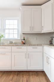 High Impact Kitchen Renovation And Low Sensible Cost By Updating - High kitchen cabinets