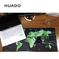 Gaming Desk Mat Shop World Map Rubber Mouse Pad Large Mouse Mat Desk Mats