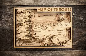Game Of Thrones Google Map Game Of Thrones 3d Wood Map
