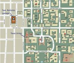 Ut Austin Campus Map by Lodging And Parking