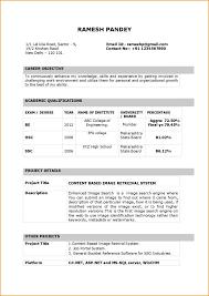 simple resume format sle doc resume sle doc india teacher resume format in word it cover