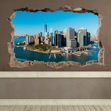 vinilos decorativos agujero vista aerea nueva york decoracion explore adhesive vinyl new york and more