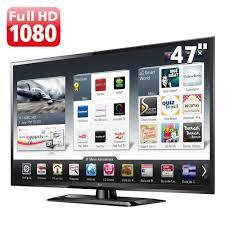 "Fabuloso TV 47"" LED LG 47LS5700 Full HD com Smart TV, Conversor Digital e  &LL21"