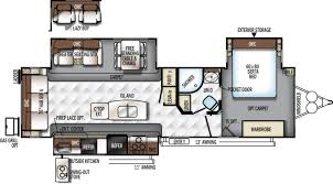 rockwood trailers floor plans forest river rockwood signature ultra lite 8328bs rvs for sale
