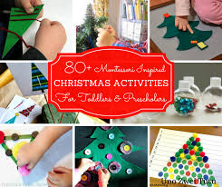 80 christmas activities for montessori toddlers and preschoolers