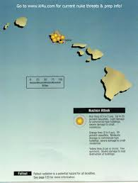 Map Hawaii Nuclear War Fallout Shelter Survival Info For Hawaii With Fema